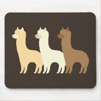 Alpaca Mouse Pads