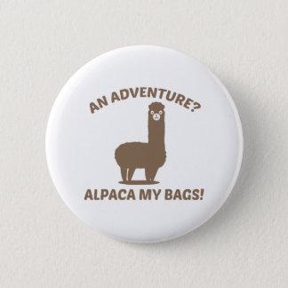 Alpaca My Bags Button