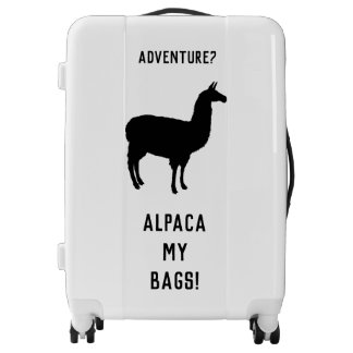 Alpaca My Bags Suitecase