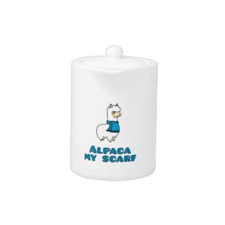 Alpaca My Scarf Teapot