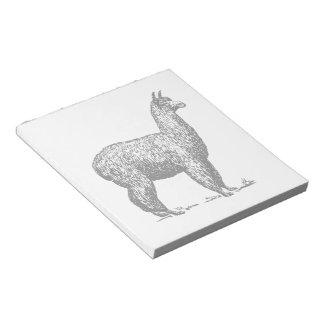Alpaca Note Pad