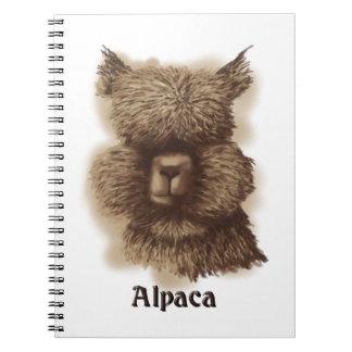 Alpaca Note Books