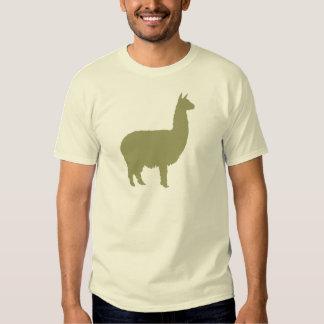 Alpaca orgullosa (en verde salvia) camisas