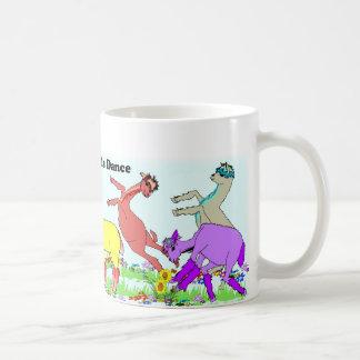 Alpaca Pals Dance Classic White Coffee Mug