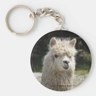 Alpaca, Parque Llaviucu, Ecuador Keychains