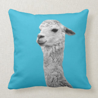 Alpaca photography pillow