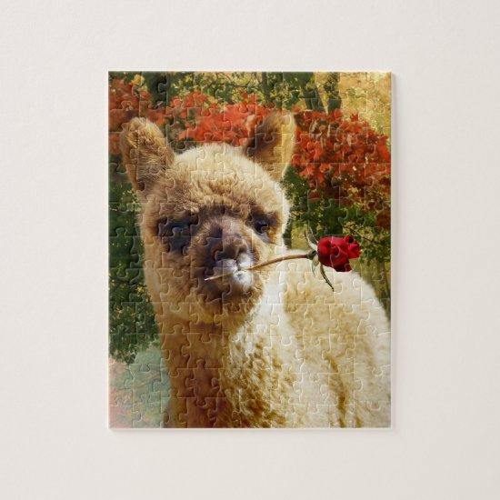 Alpaca Rose Puzzle