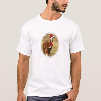 Alpaca Santa T-Shirt