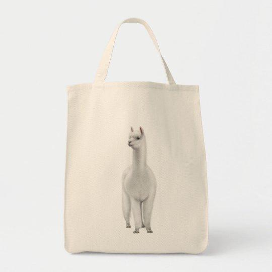 Alpaca Shopping Tote Bag
