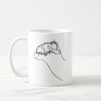 Alpaca Sketch. Mugs