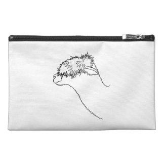 Alpaca Sketch. Travel Accessories Bag