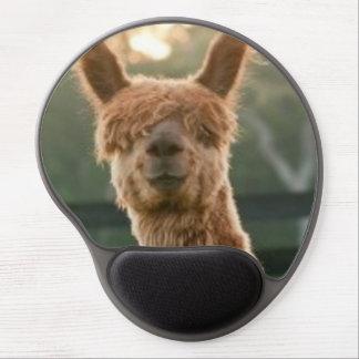 Alpaca Smiling Gel Mousepad