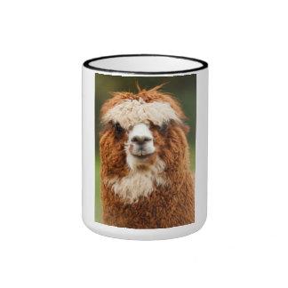 Alpaca Taza A Dos Colores