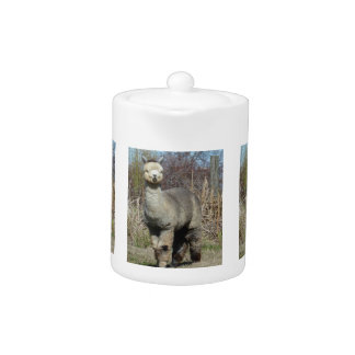 Alpaca Teapot