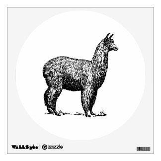 Alpaca Wall Decal