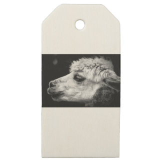 Alpaca Wooden Gift Tags