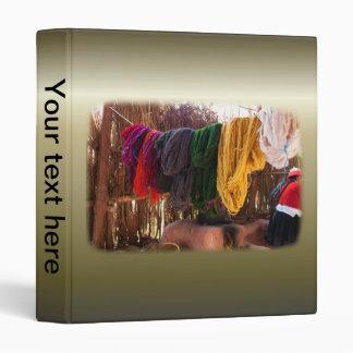 Alpaca Wool - Peru Vinyl Binder