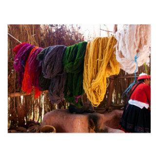 Alpaca Wool - Peru Postcard