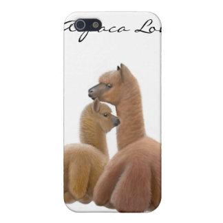 Alpaca y caja adaptables de la mota de Cria iPhone 5 Carcasa