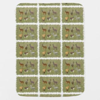 Alpacas Baby Blanket