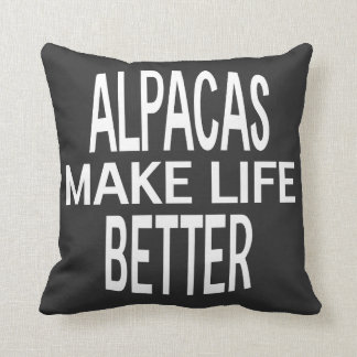 Alpacas Better Pillow - Assorted Styles & Colors