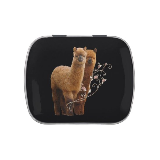 Alpacas Candy Tin