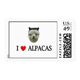 """Alpacas del """"corazón I"""" Sello"""