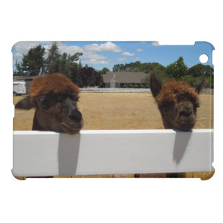 Alpacas in Templeton, California Cover For The iPad Mini