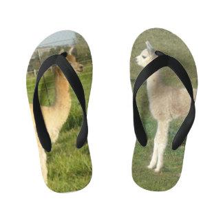 Alpacas Kid's Flip Flops