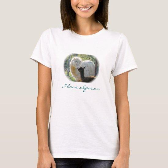 Alpacas Kisses T-Shirt