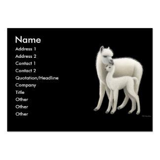 Alpacas Profile Card Business Card