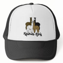 Alpacas Rock Farm Days Event Trucker Hat
