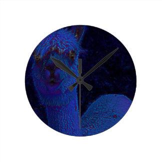 Alpacca Round Clock
