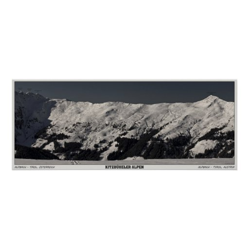 Alpbach Panorama Print