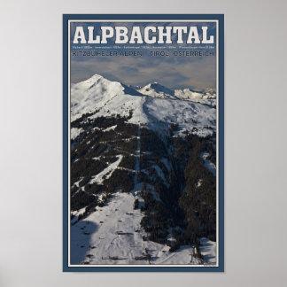 Alpbach Ski Area Posters