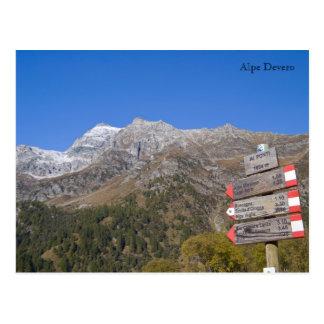 Alpe Devero - Valle Ossola Postcard