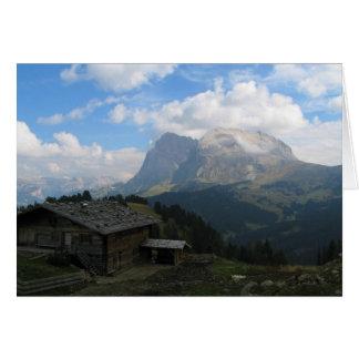 Alpe Di Siusi Italia Tarjeta De Felicitación