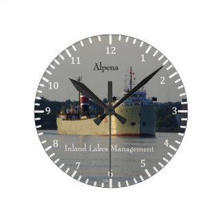 Alpena clock
