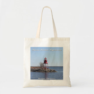 Alpena Harbor Lighthouse - Budget Tote