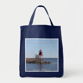 Alpena Harbor Lighthouse - Grocery Tote