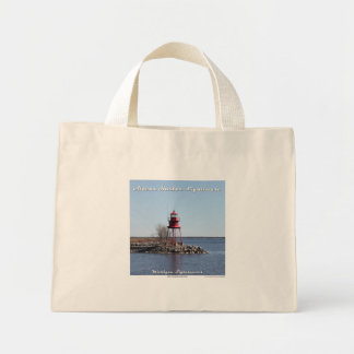 Alpena Harbor Lighthouse Small Tote