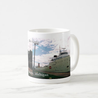 Alpena in the Soo Locks mug