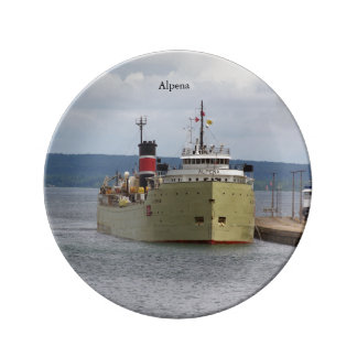 Alpena Soo decorative plate