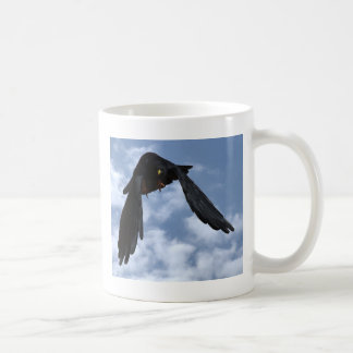 Alpendohle yellow billed chough coffee mug