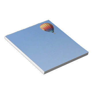 Alpenglow Hot Air Balloon Notepad