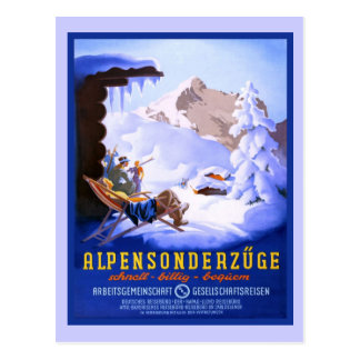 Alpensonderzuge, Germany Postcard