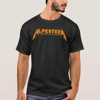 Alpentera Orange Logo! T-Shirt