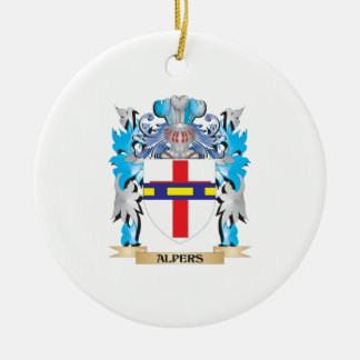 Alpers Coat Of Arms Christmas Tree Ornaments
