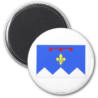Alpes-de-Haute-Provence flag 2 Inch Round Magnet