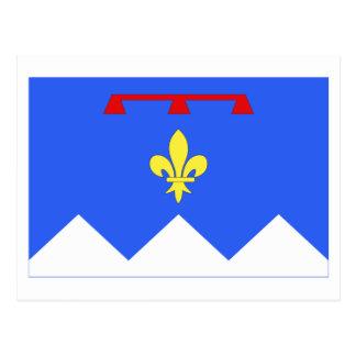 Alpes-de-Haute-Provence flag Postcard